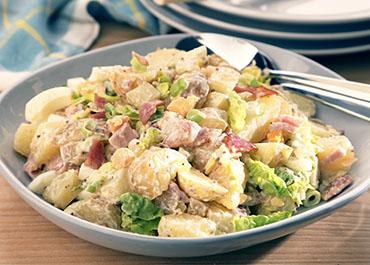 Smoked Back Bacon Potato Salad