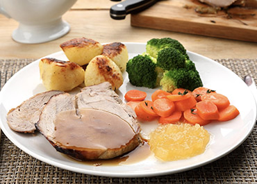 Roast Gigot of Pork